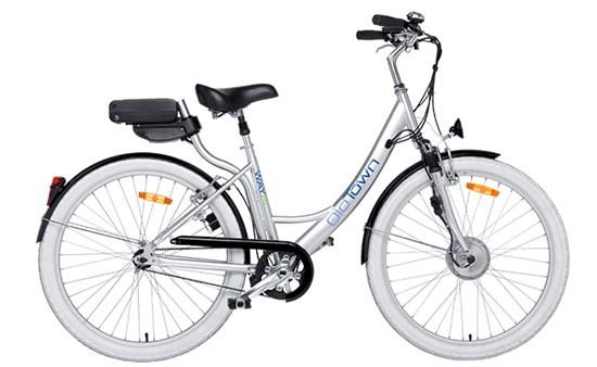 bici elettrica wayel mod old town con batteria da 6 ah