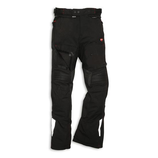 pantalone ducati in tessuto modello strada
