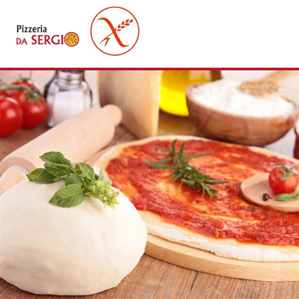 pizza per celiaci gustala dalla pizzeria da sergio prenota