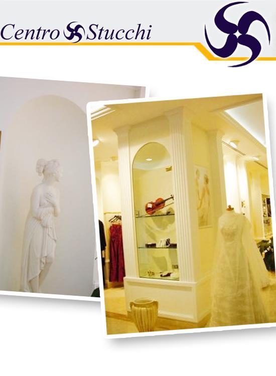 CENTRO STUCCHI SRL realizza elementi decorativi per interni su misura. Scopri di più!