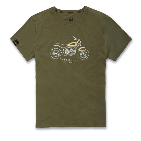 t shirt heritage scrambler ducati
