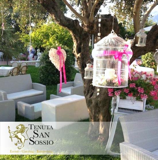 Tenuta San Sossio | Organizziamo feste, eventi e cerimonie indimenticabili. Clicca qui!