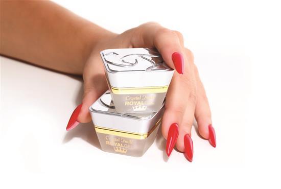 Gel Royal Crystal Nails