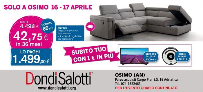 Dondi Salotti Jesi.Spettacolare 16 17 Aprile Da Dondi Salotti A Ancona Sihappy