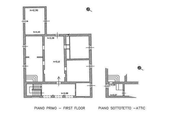 Prestigioso casale da ristrutturare in vendita a pochi da for Ristrutturare casa con pochi soldi