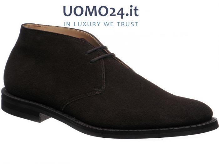 Uomo24.it offre un assortimento di scarpe di altissima qualità come il  modello Church s Ryder polacchino con fondo in Dainite colore Moro 760a5c8a79f