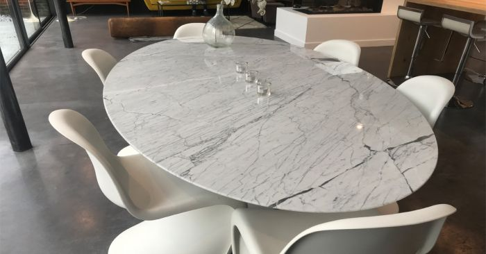 Offerta tavolo ovale tulip made in italy occasione sihappy