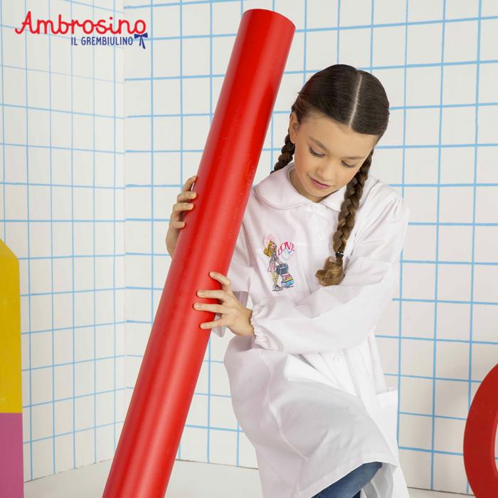 Con Ambrosino il grembiulino hai tutto ciò che occorre per il corredo  scolastico del tuo bambino. Scopri di più! 500fc75ea34