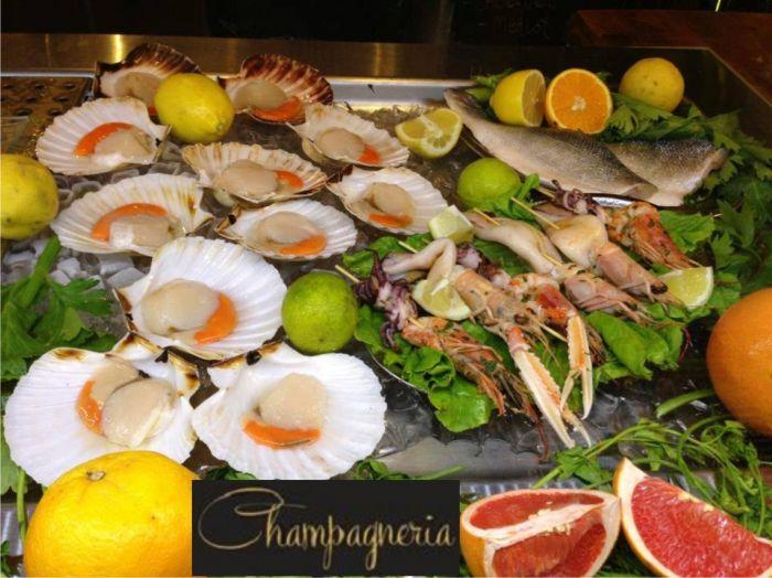 Champagneria Vineria Offerta Cena A Base Di Pesce Sihappy
