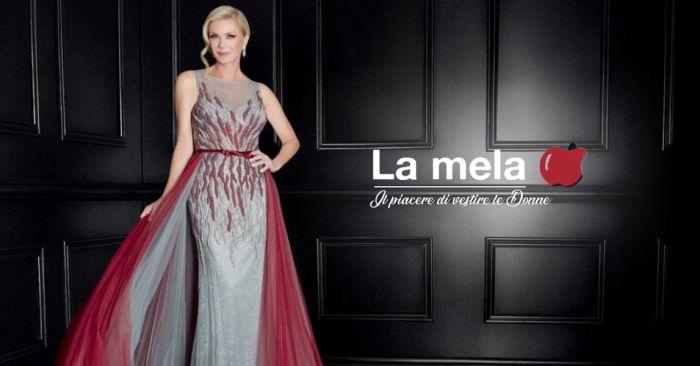 4f4042962791 LA MELA BOUTIQUE è il tuo punto vendita di fiducia per abiti di alta moda e da  cerimonie, fornito anche di abiti taglie comode. Scopri di più