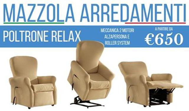 Offerta Speciale su Poltrona Relax. Scopri! a Bergamo - SiHappy