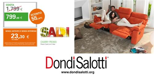 SALDI DONDI SALOTTI a Pesaro Urbino - SiHappy