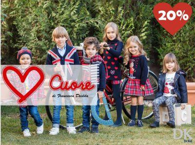 offerta abbigliamento per bambini e ragazzi cuore di francesca deidda serramanna