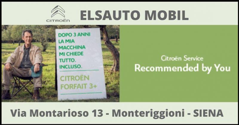 ELSAUTO MOBIL - offerta officina convenzionata Citroën e manutenzione veicoli Citroën Siena