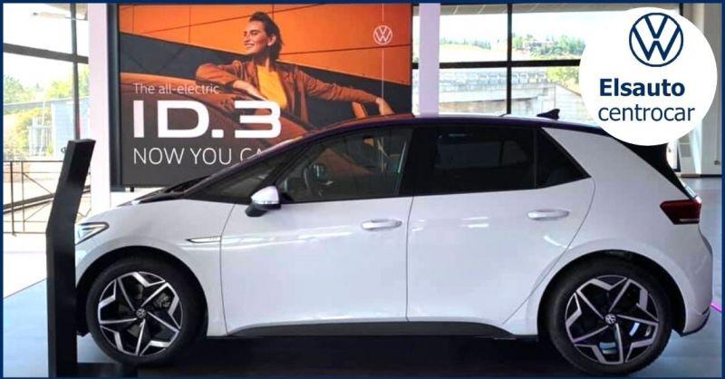 promozione auto elettrica Volkswagen ID3 - occasione ecoincentivi e sconti auto elettriche Siena