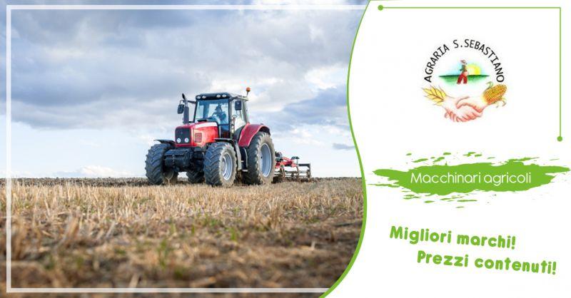 AGRARIA SAN SEBASTIANO offerta vendita macchinari agricoli Vedelago