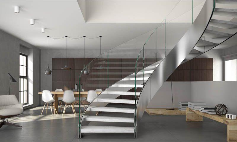 offerta realizzazione scale e ringhiere su misura - occasione installazione scale e ringhiere