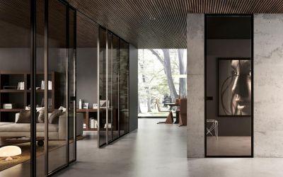 offerta realizzazione pareti divisorie in vetro occasione realizzazione vetrate divisorie