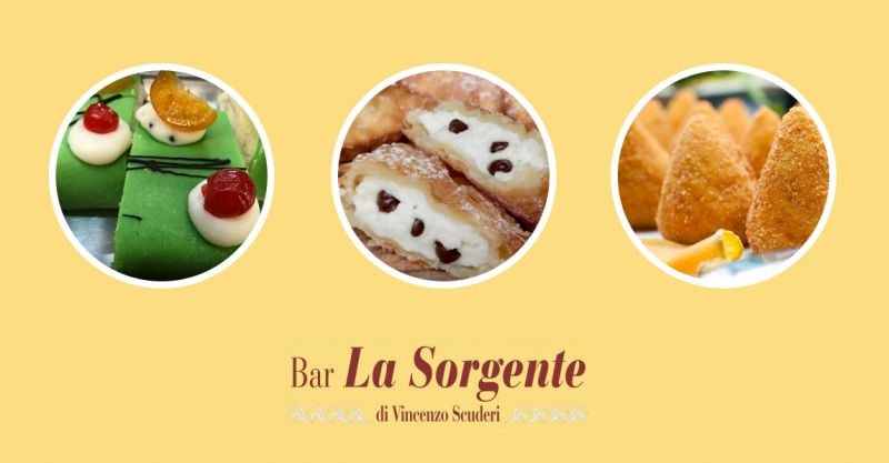 offerta bar dolci tipici siciliane - promozione gastronomia rosticceria siciliana