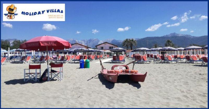 Angebot Vermietungen wochen- und tageweise, in Marina di Massa und Versilia, Toskana