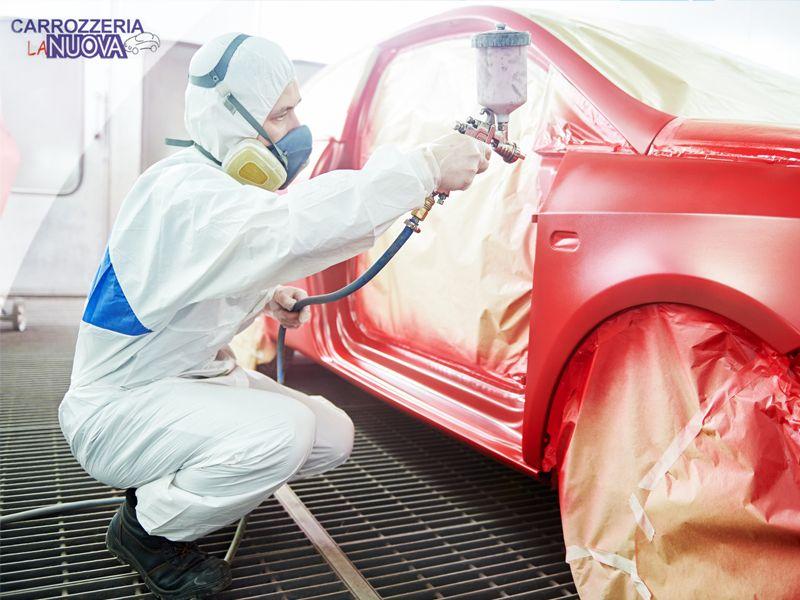 servizio verniciatura auto carrozzeria la nuova