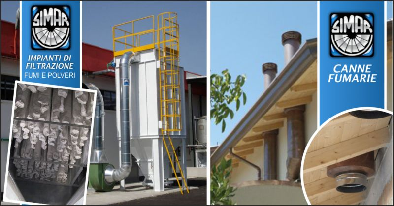 simar offerta impianti di climatizzazione - occasione canne fumarie industriali perugia