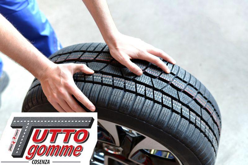 Offerta controllo pressione pneumatici cosenza - promo inversione pneumatici stato usura gomme