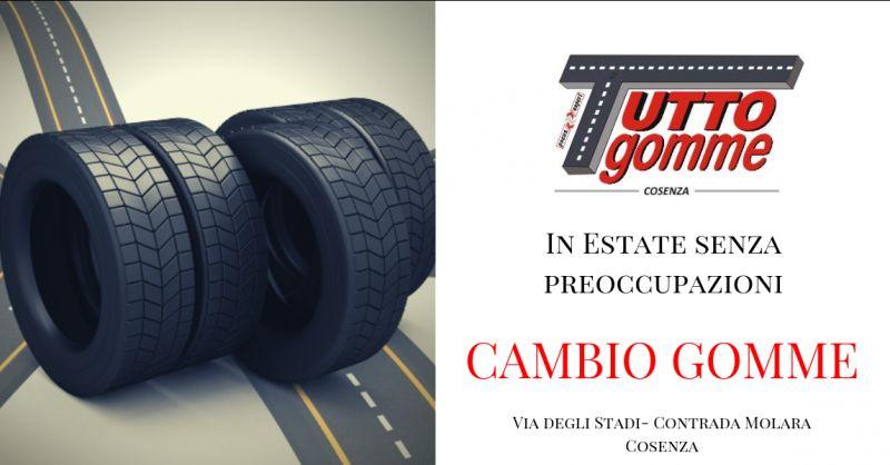 Offerta cambio pneumatici cosenza - offerta sostituzione gomme cosenza -  pneumatici cosenza