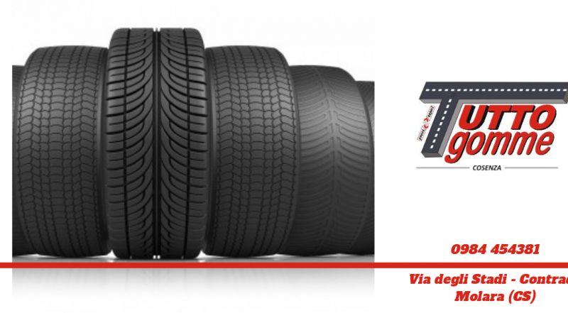 Offerta sostituzione pneumatici cosenza - offerta custodia pneumatici cosenza - montaggio gomme