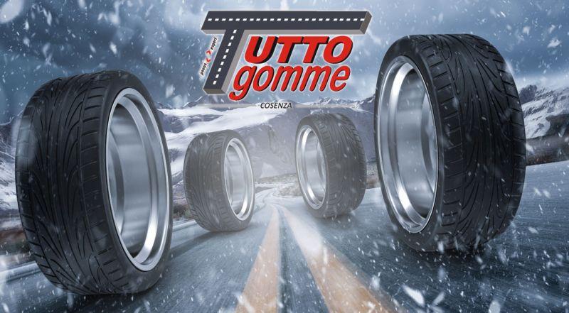 Tuttogomme offerta montaggio pneumatici invernali Cosenza - Promozione cambio gomme Cosenza