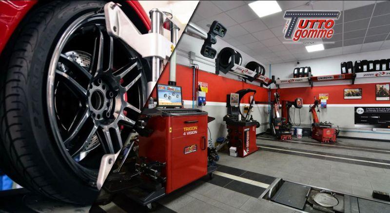 Tuttogomme  - Offerta riparazione  e riallineamento pneumatici – promozione cambio pneumatici dei veicoli