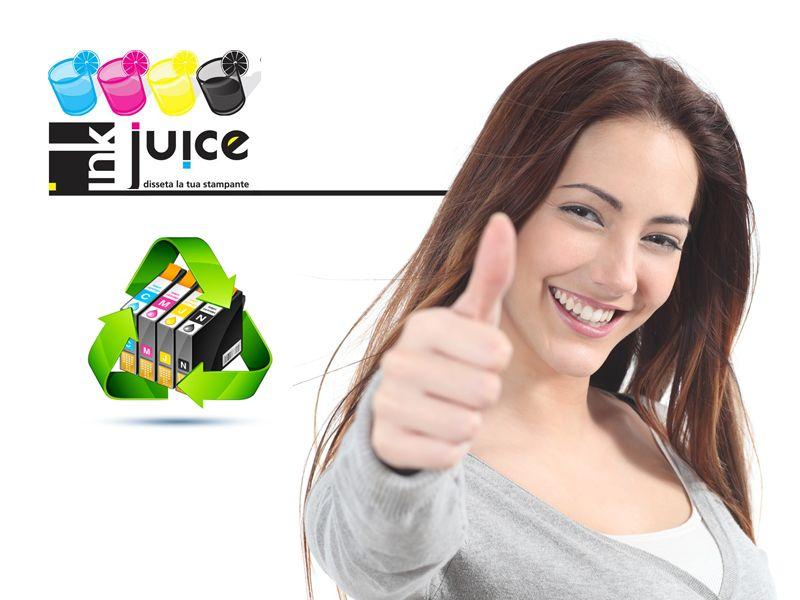 offerta cartucce rigenerate compatibili e originali - promozione risma a4 burgo in omaggio