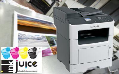 offerta stampante lexmark mx310 castrolibero promozione sconto toner originale compatibile
