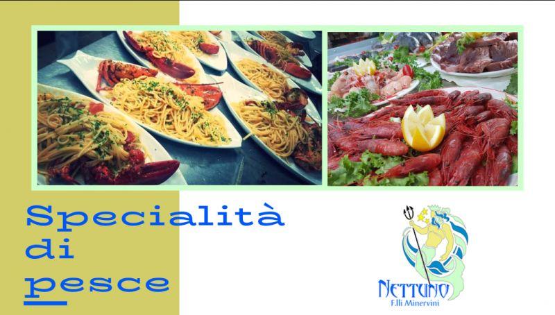 Ristorante nettuno offerta ristorante di pesce cosenza - promozione specialita di pesce rende