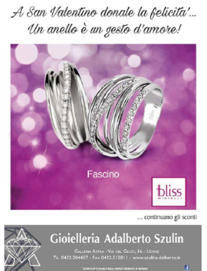 Gioielleria Adalberto Szulin offerta vendita anelli - occasione gioielleria idee regalo Udine