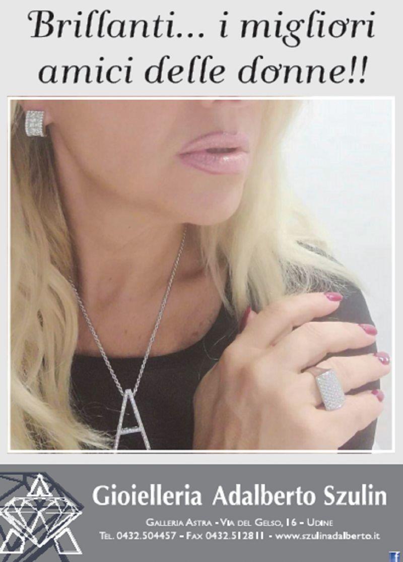 Gioielleria Adalberto Szulin offerta vendita gioielli - occasione anelli e brillanti Udine