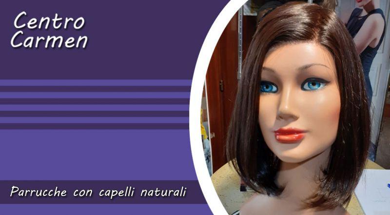 Promozione parrucca con capelli naturali Cosenza – Offerta parrucca con capelli medi e corti Cosenza