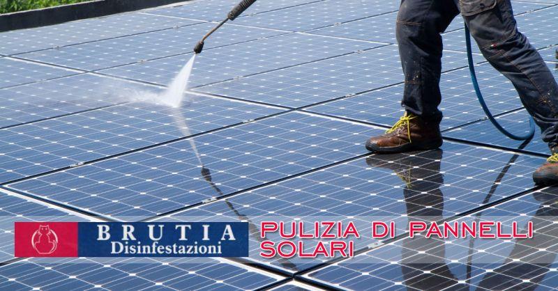 Offerta pulizia pannelli solari Cosenza – Promozione pulizia impianto fotovoltaico Cosenza