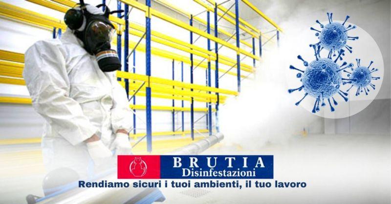Offerta servizio professionale di sanificazione con ozono di uffici condomini fabbriche Cosenza