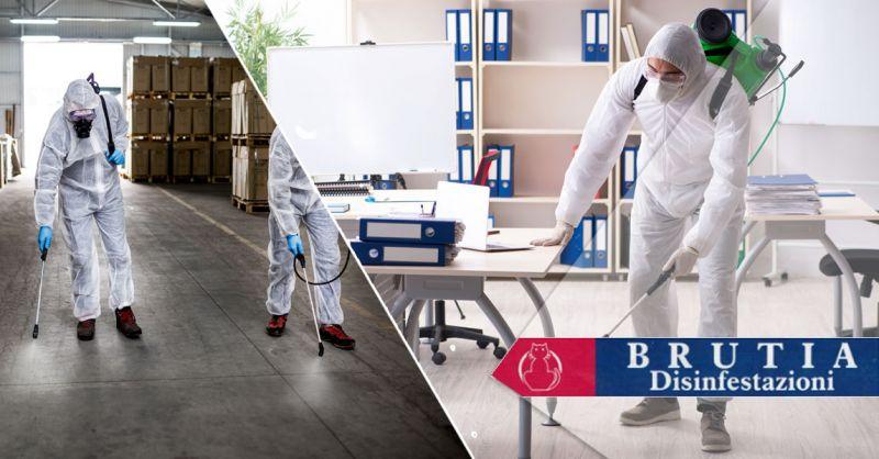 Offerta sanificazione di negozi e scuole Cosenza – Promozione interventi di sanificazione locale Cosenza