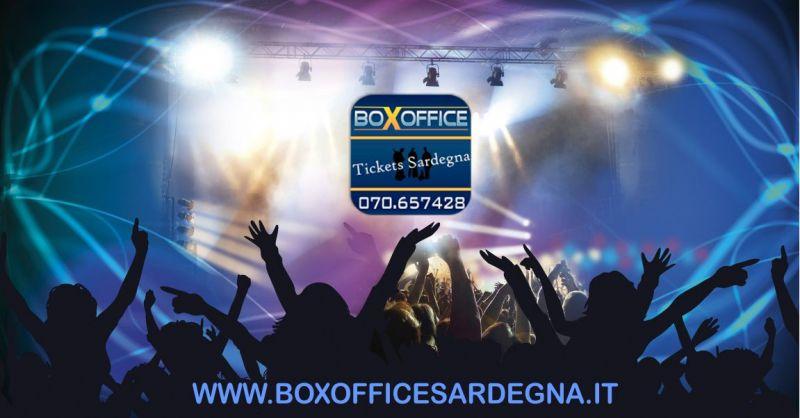 BOX OFFICE Sardegna - offerta vendita biglietti eventi concerti