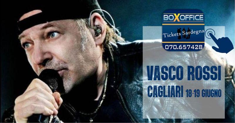 BOX OFFICE Sardegna - offerta biglietti concerto Vasco Rossi Cagliari