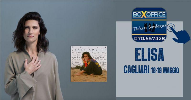 BOX OFFICE Sardegna - offerta biglietti concerto Elisa Cagliari