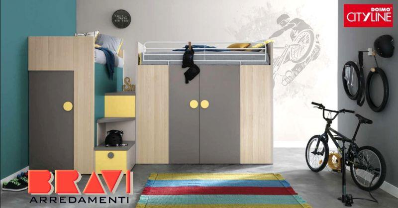 offerta vendita camerette per ragazzi Piacenza - occasione vendita camere da letto per ragazzi