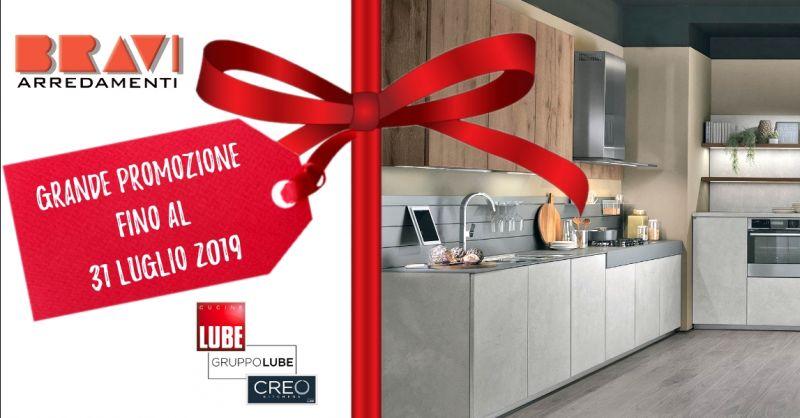 offerta vendita cucine Lube in promozione - occasione acquisto cucine Creo in offerta Piacenza
