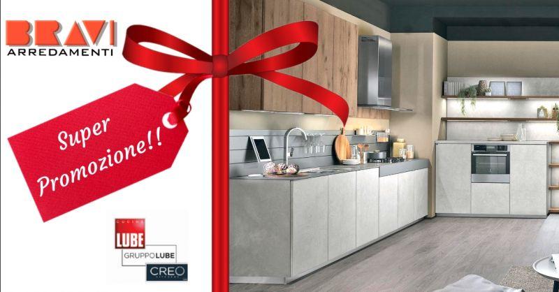 Promozione cucine moderne Lube a Piacenza - occasione vendita cucine Creo in offerta Lodi
