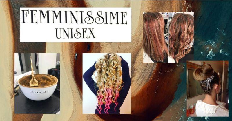 offerta parrucchiere unisex uomo donna Lucca - FEMMINISSIME UNISEX