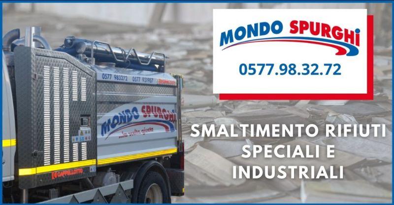 MONDO SPURGHI - promozione smaltimento rifiuti speciali e industriali Siena