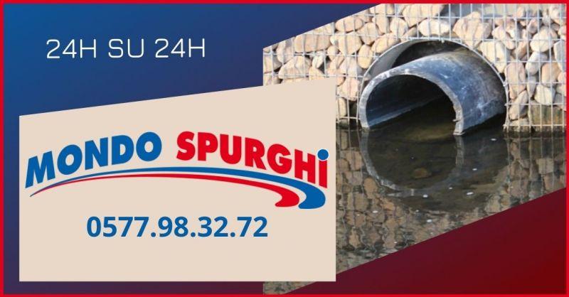 occasione servizi per la pulizia tubazioni e stasatura condotti di scarico - MONDO SPURGHI