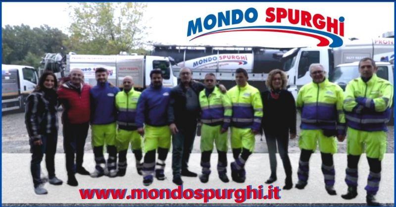 offerta servizio spurgo fosse biologiche e spurgo fognature - MONDO SPURGHI